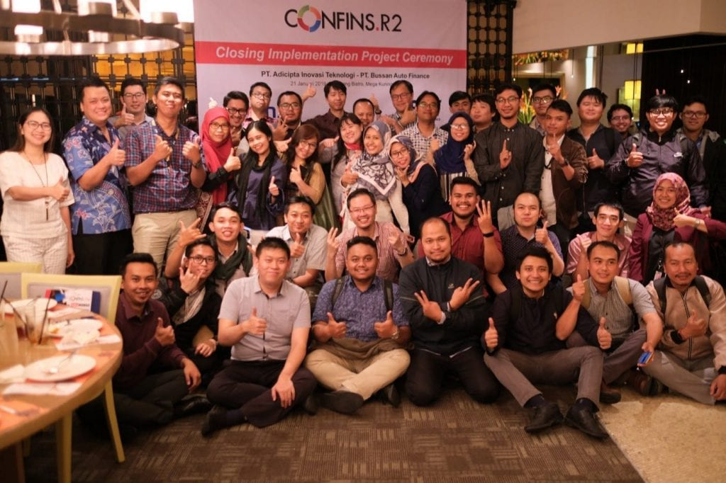 , CONFINS Implementation Project Closing Ceremony with BAF, Advance Innovations