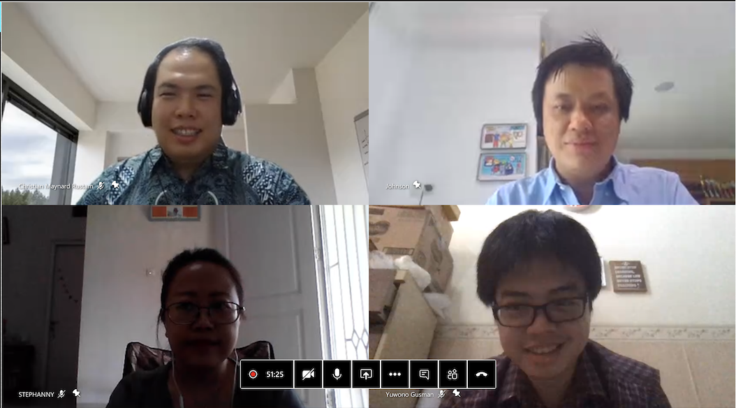 , ADINS – OCBC Online Inaugural Meeting (Kick Off Meeting) In the Occasion of PROFIND Implementation, Advance Innovations