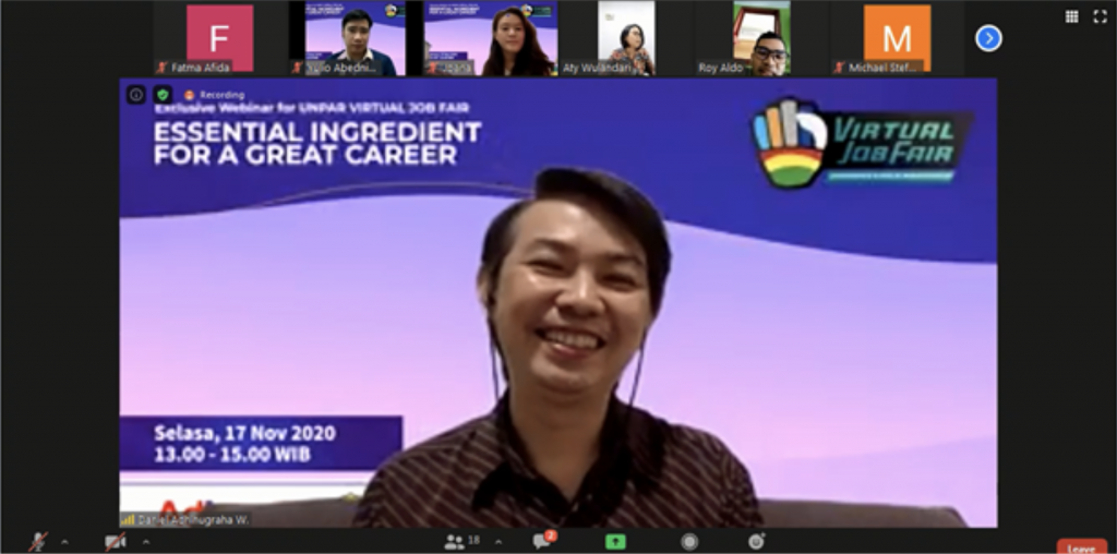 """debt collectors, WEBINAR VIRTUAL JOB FAIR 2020  PARAHYANGAN CATHOLIC UNIVERSITY:  """"Essential Ingredient for A Great Career"""" By AdIns, Advance Innovations"""